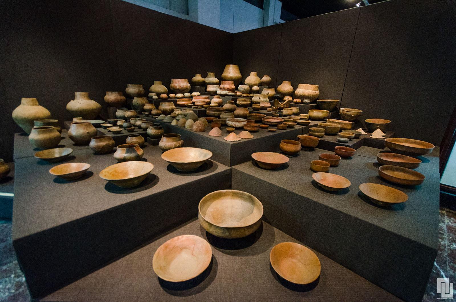 Археологически музей - Кабиле глинени съдове