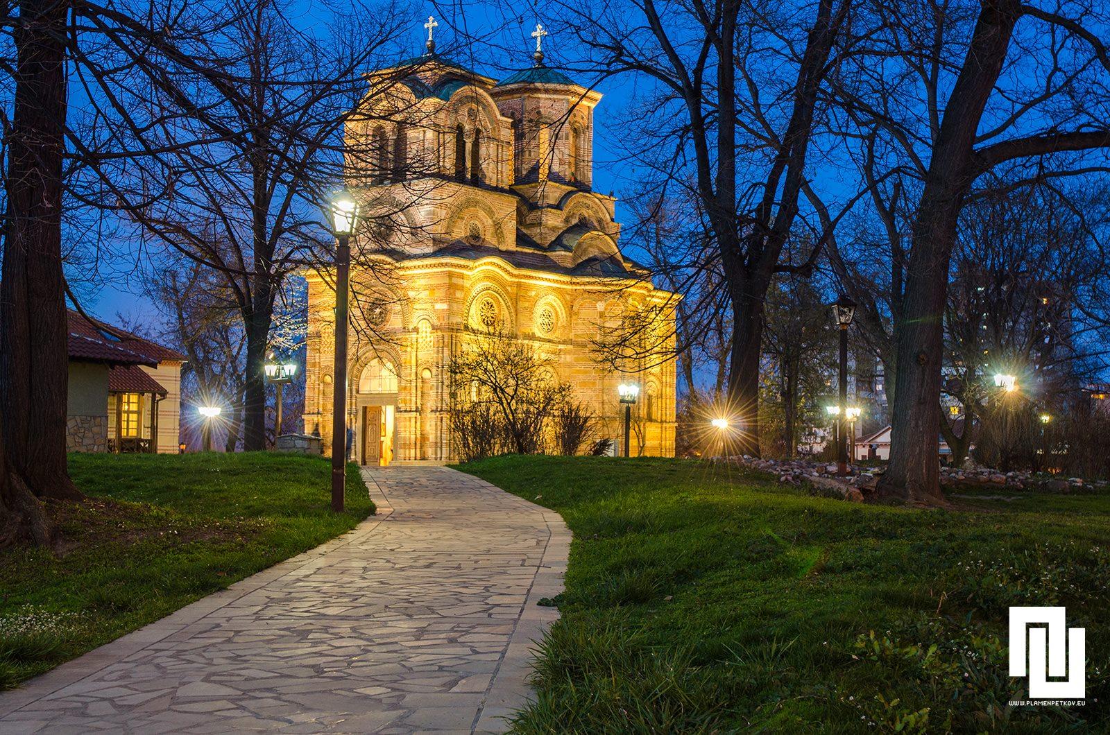 Църквата Св. Стефан в Крушевац, известна като Лазарица