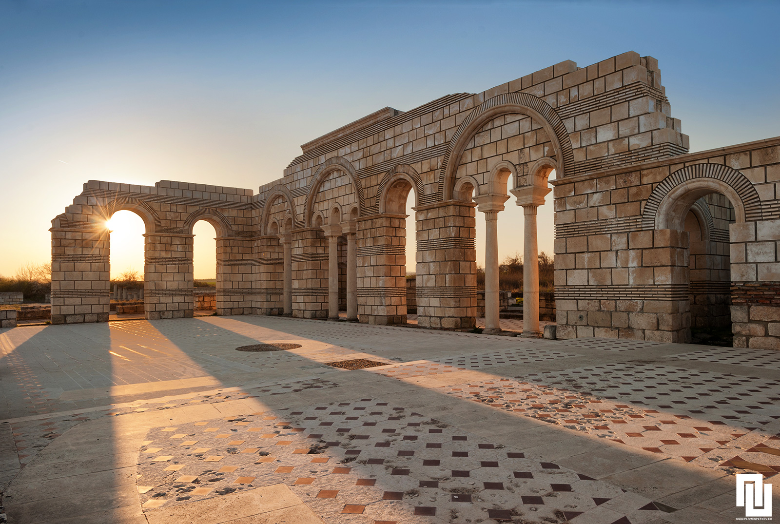 Голямата Базилика в първата българска столица - Плиска