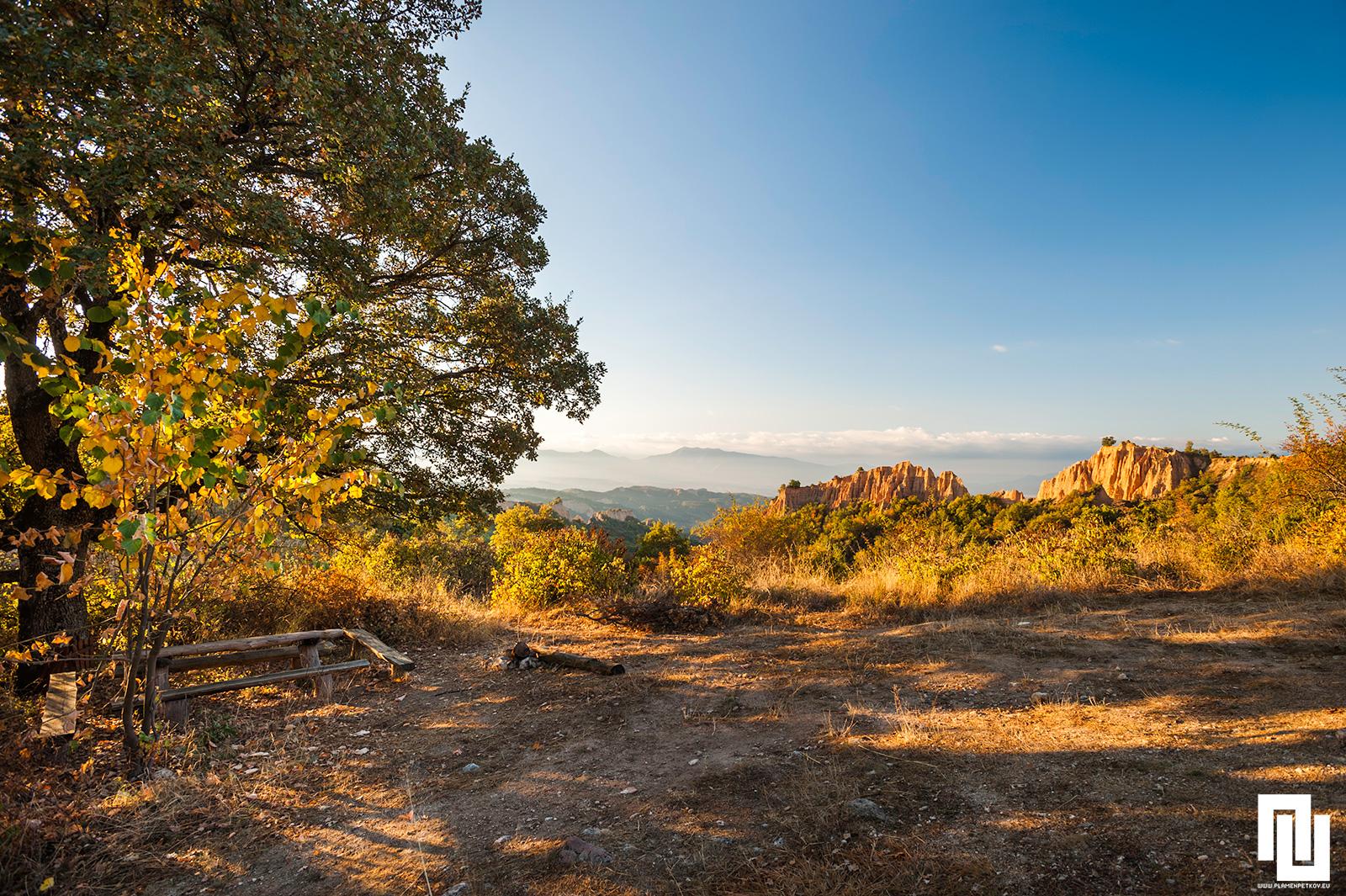 Пейка за отдих по еко пътека от Роженския манастир към Мелник