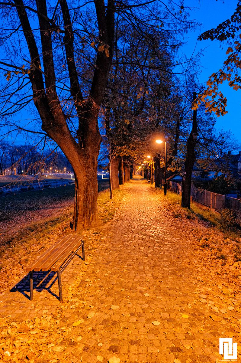 Крайречния парк на Пирот, Сърбия