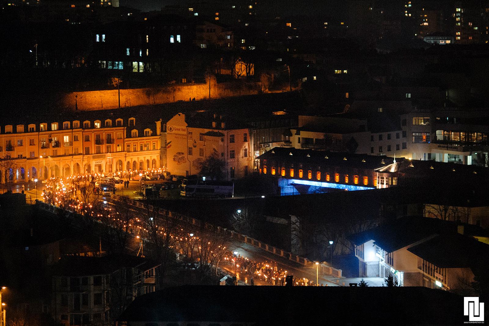 Факелно шествие в памет на Апостола, Ловеч
