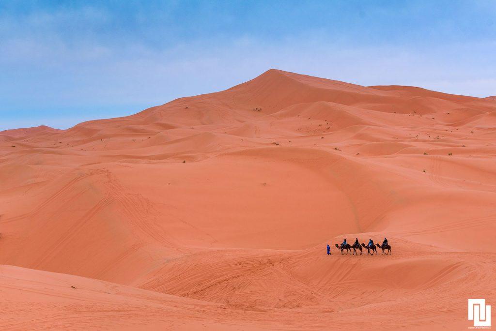 Керван в Сахара, Мароко